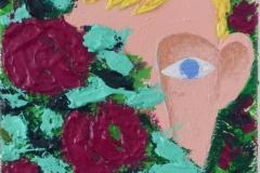 « Basile au buisson de roses » de Antoine Weyd