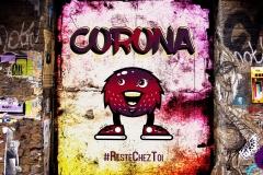 « Corona reste chez toi » de Divanessa